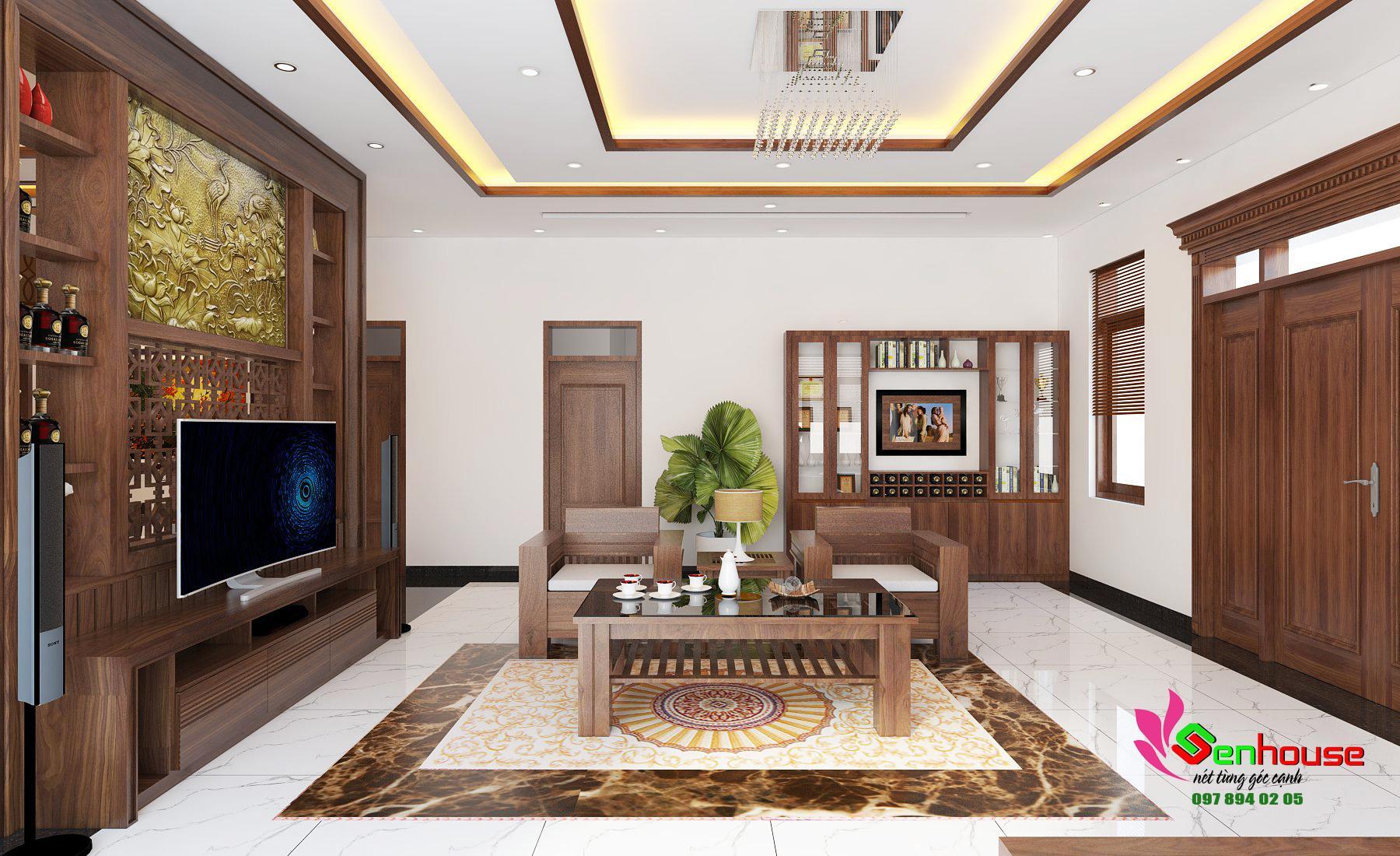 Thiết kế nội thất nhà anh Huy ở Thái Hòa Nghệ An