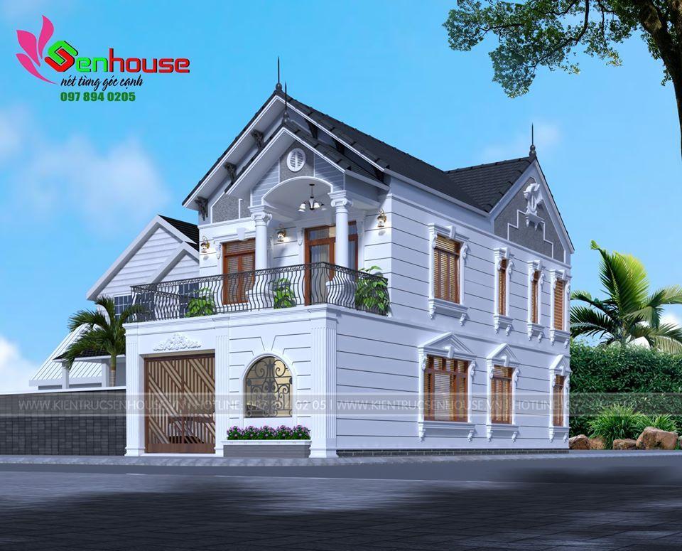 Ngôi nhà khi nhìn nghiêng