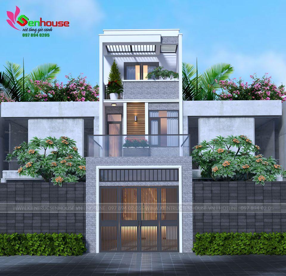 Thiết kế nhà phố 2.5 tầng của gia đình anh Ngà tại Quỳnh Ngọc Quỳnh Lưu