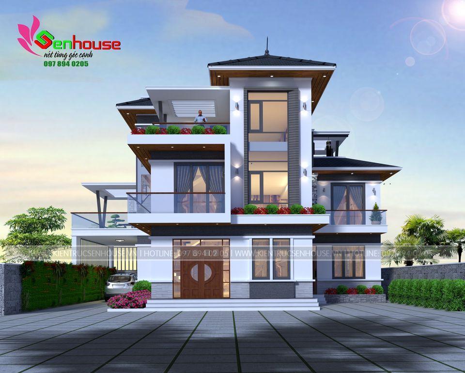 Toàn cảnh ngôi nhà