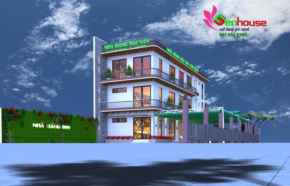 Thiết kế nhà hàng kinh doanh hải sản tại Nghĩa Đàn