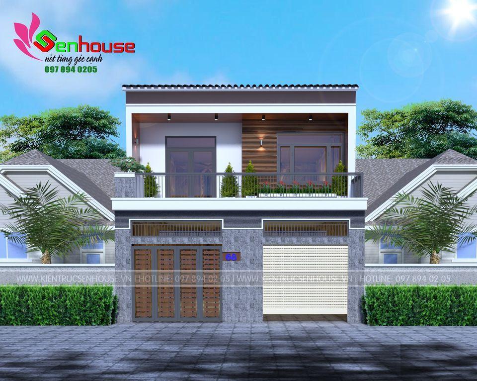 Mẫu thiết kế nhà ở kết hợp kinh doanh