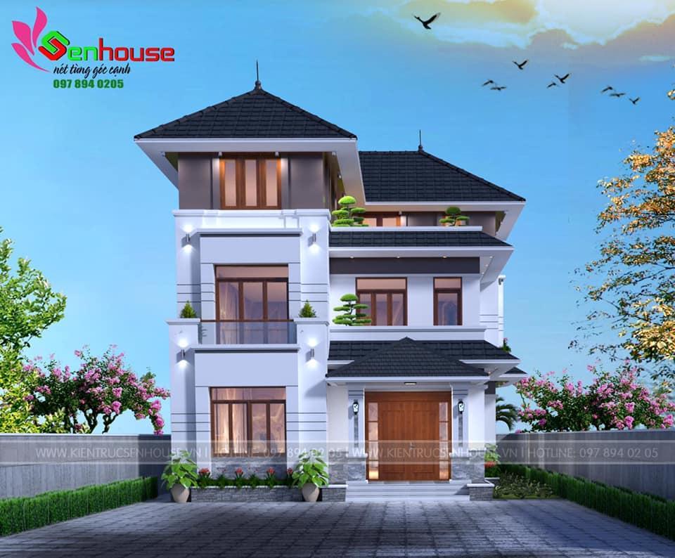 Thiết kế nhà 3 tầng theo phong cách hiện đại