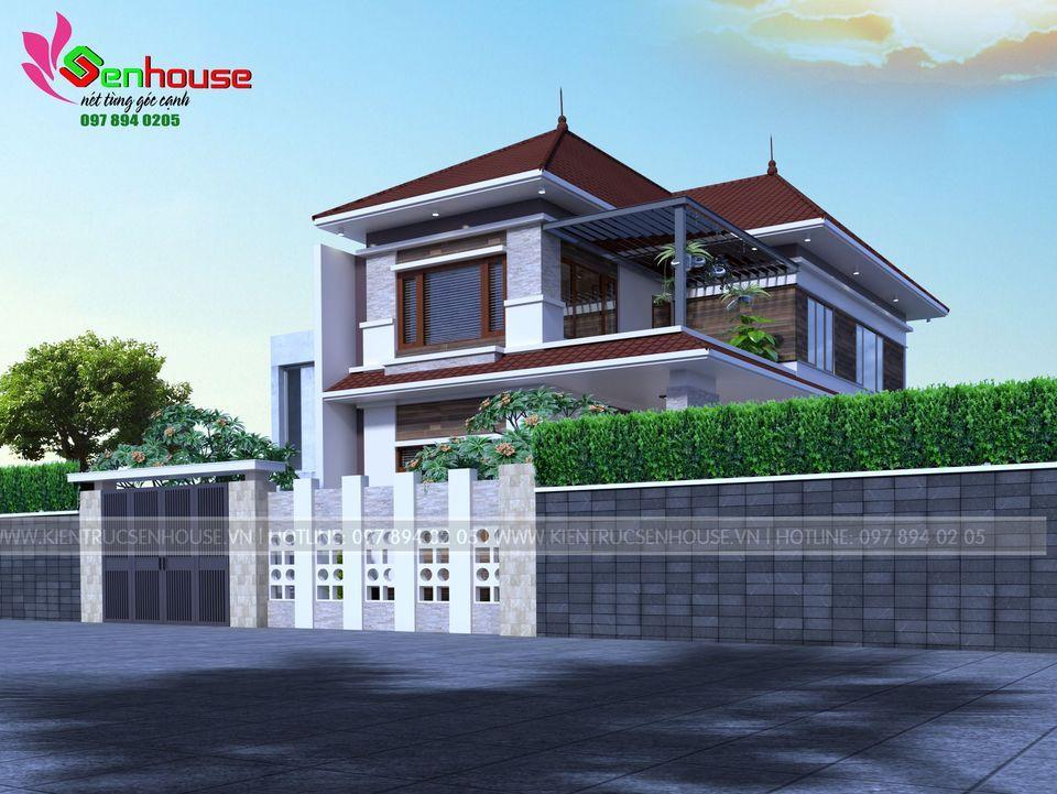 Góc nghiêng của ngôi nhà