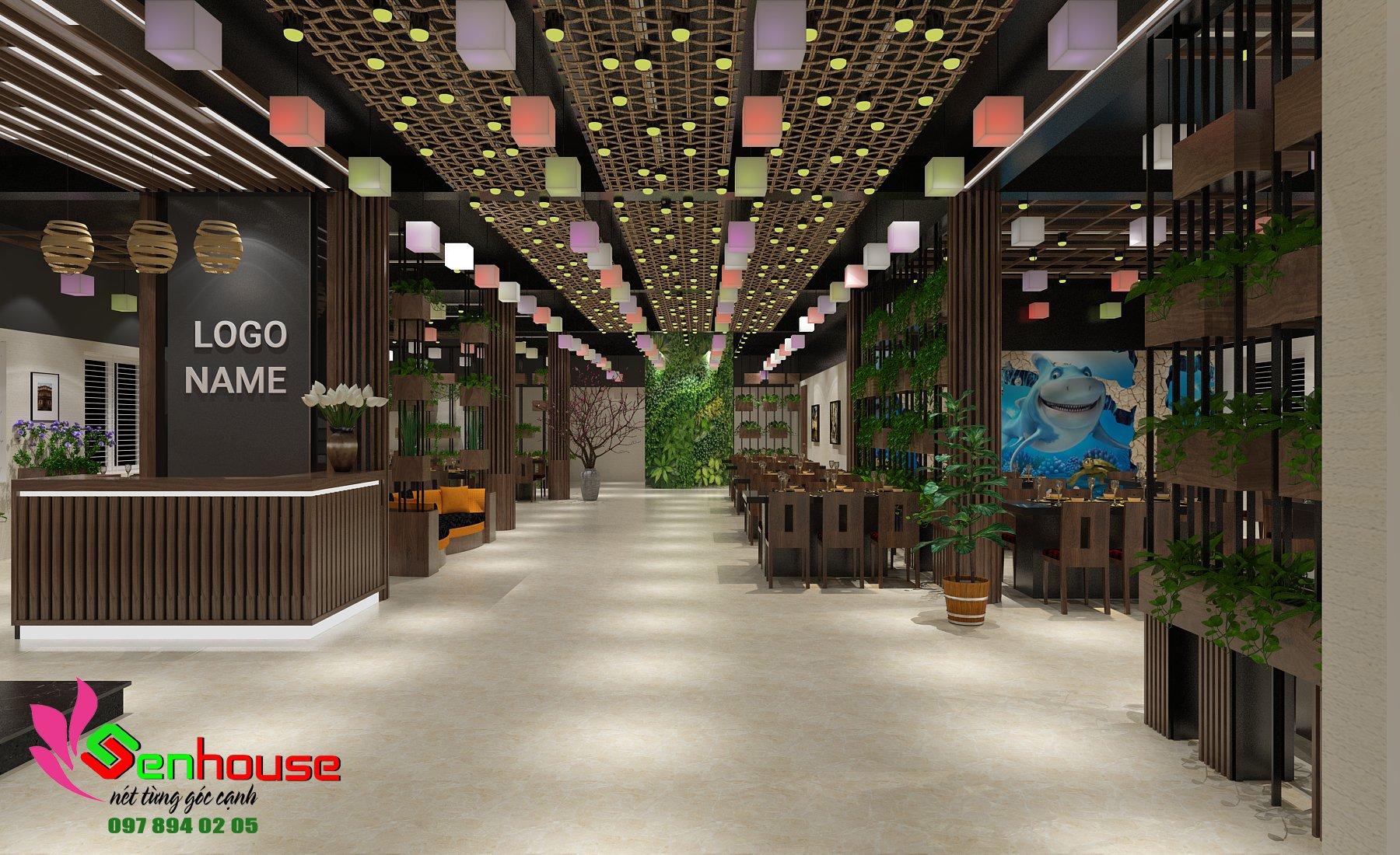 Thiết kế nhà hàng hải sản tại Cửa Lò