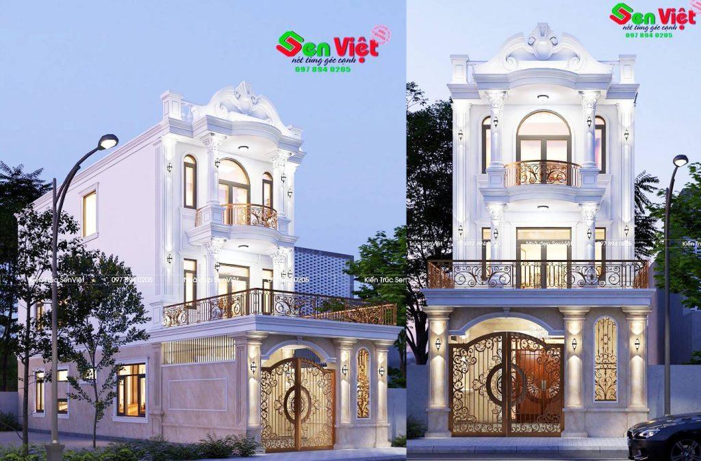 Thiết kế nhà Nghệ An 3 tầng