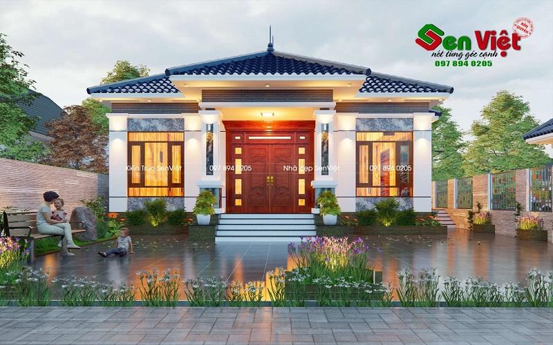 thiết kế nhà cấp 4 Hà Tĩnh