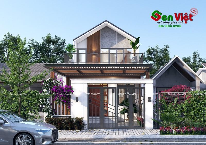Thiết kế nhà 2 tầng ở Quỳ Hợp