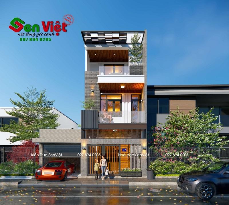 Thiết kế nhà 3 tầng Hải Phòng